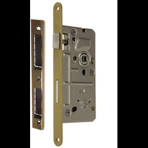 Zamek do drzwi 72/60 wpuszczany łazienkowy Metalplast Częstochowa BOX prawy