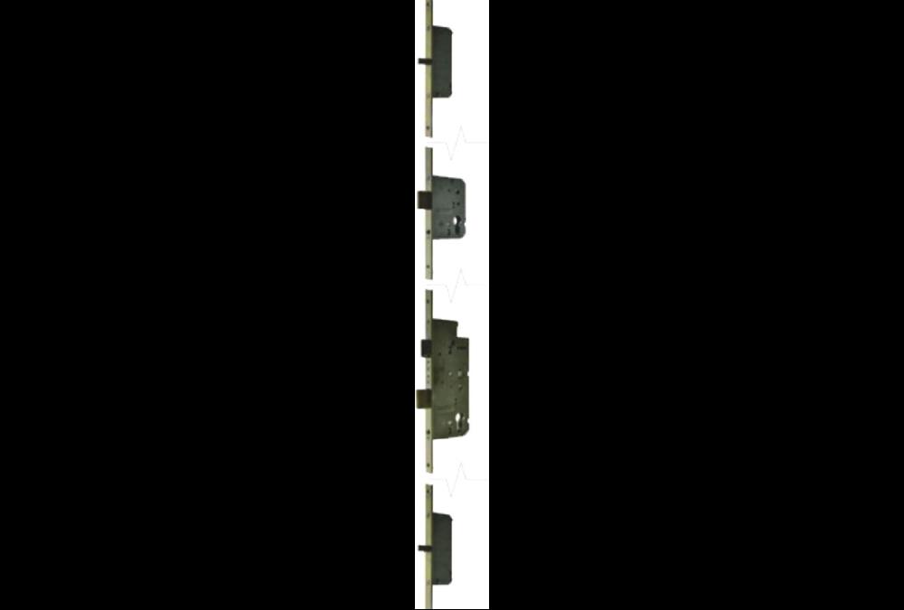 Zamek listwowy wielopunktowy 72/65-20/1729, klasa C