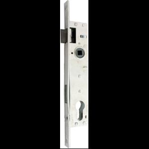 Zamek do drzwi 90/22 wpuszczany na wkładkę bębenkową Metalplast Częstochowa ZZB-30