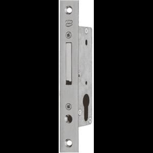Zamek do drzwi wpuszczany na wkładkę bębenkową Metalplast Częstochowa MC S