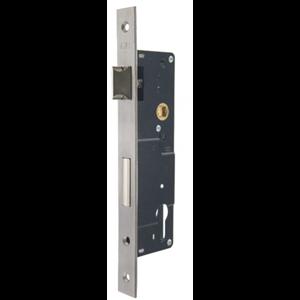 Zamek do drzwi 90/35 wpuszczany na wkładkę bębenkową Lob Z935B-16