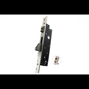 Zamek do drzwi wpuszczany na wkładkę bębenkową rolkowy GNS 7716