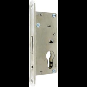 Zamek do drzwi wpuszczany na wkładkę bębenkową oszczędnościowy Metalplast Częstochowa ZB-7