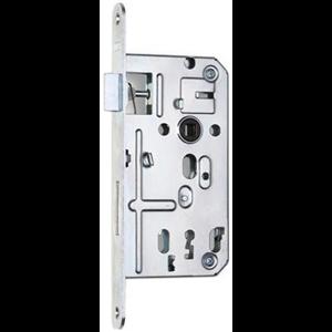 Zamek do drzwi 72/50 wpuszczany na klucz Hobes