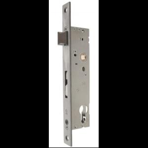 Zamek do drzwi 92/30 wpuszczany na wkładkę bębenkową ROMB KPO-30