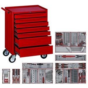 Wózek warsztatowy narzędziowy 230-elem. TCW807SV TengTools TENG_230