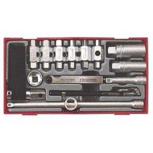 16-elementowy Zestaw narzędzi do serwisu olejowego TTOS16 TengTools 0396-0101