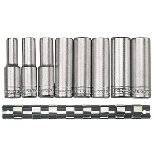 Zestaw nasadek długich 1/2'' 13-24mm TengTools 7310-0109