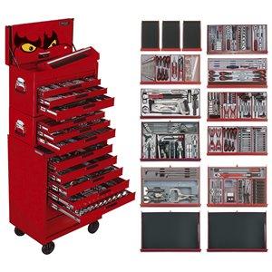 Wózek warsztatowy narzędziowy 479-elem. TCMM479 TengTools 9480-0208