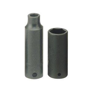 Nasadka udarowa 11mm długa ze stali chromowo-molibdenowej z chwytem 3/8'' TengTools 11486-0307