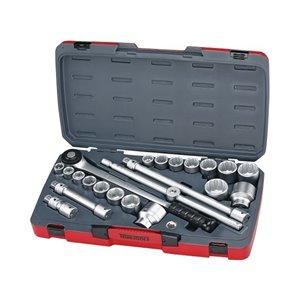 Zestaw kluczy nasadowych z chwytem 3/4''. T3422S TengTools 16737-0105