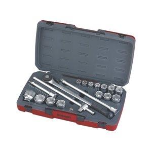 Zestaw kluczy nasadowych z chwytem 3/4''. T3418-6 TengTools 16738-0104
