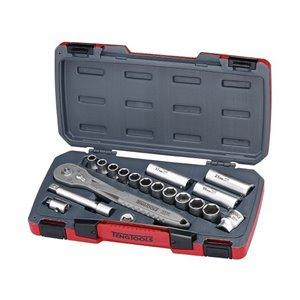 Zestaw kluczy nasadowych z chwytem 1/2'' TS1218 TengTools 16751-0106