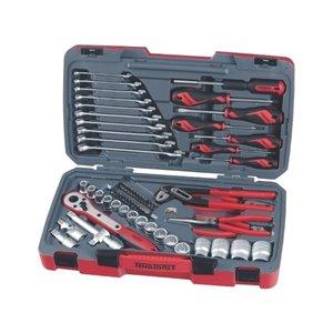 Zestaw narzędzi nasadkowych z chwytem 1/2'' T1268 TengTools 16758-0109