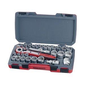 Zestaw kluczy nasadowych z chwytem 1/2'' T1230 TengTools 17802-0103