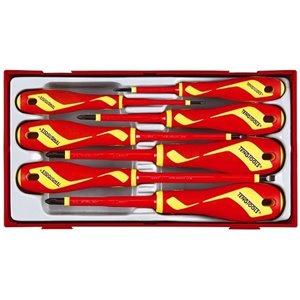 Zestaw 10 szt wkrętaków 1000V TengTools 17871-0109