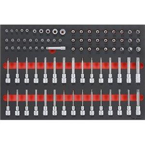 85-elementowy zestaw końcówek nasadowych TTESK85 TengTools 17885-0103