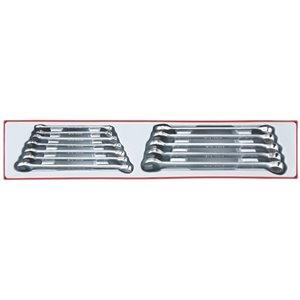 12-elementowy Zestaw kluczy płasko-oczkowych długich Tools TTXLMP12 nr kat: TengTools 18587-0102