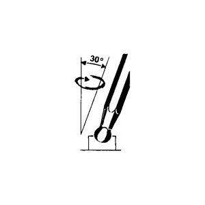 Klucz IMBUS trzpieniowy sześciokątny stal chromowo-molibdenowa 3mm TengTools 23175-0407