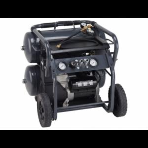 Sprężarka tłokowa w formie wózka jednoosiowego 2.5Hp- 30L Bezolejowa Luna 247870108