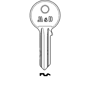 M&D klucz surowy do wkładki