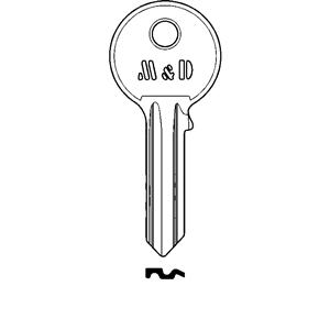 M&D Klucz surowy do wkładki A-2