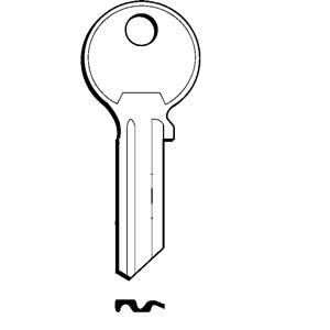 NOXI-GE klucz surowy do wkładek GERDA