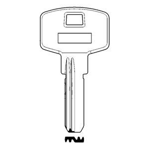 M&D Klucz surowy do wkładki M&D CYKLOP