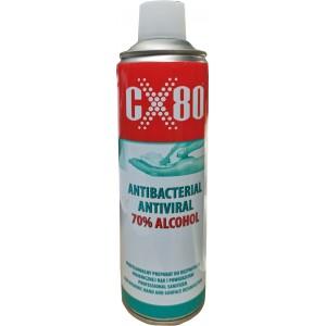 Płyn do dezynfekcji rąk i powierzchni 500ml w sprayu CX80