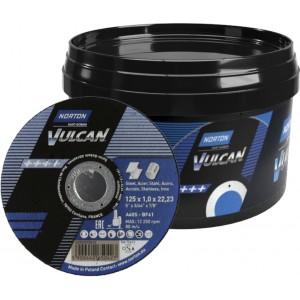 Pakiet 50 tarcz NORTON VULCAN 125x1