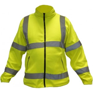 Bluza polar ostrzegawczy żółty KEPLER XL