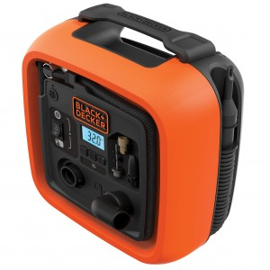 Kompresor przenośny 12V 11 Bar 160 PSI BLACK+DECKER ASI400