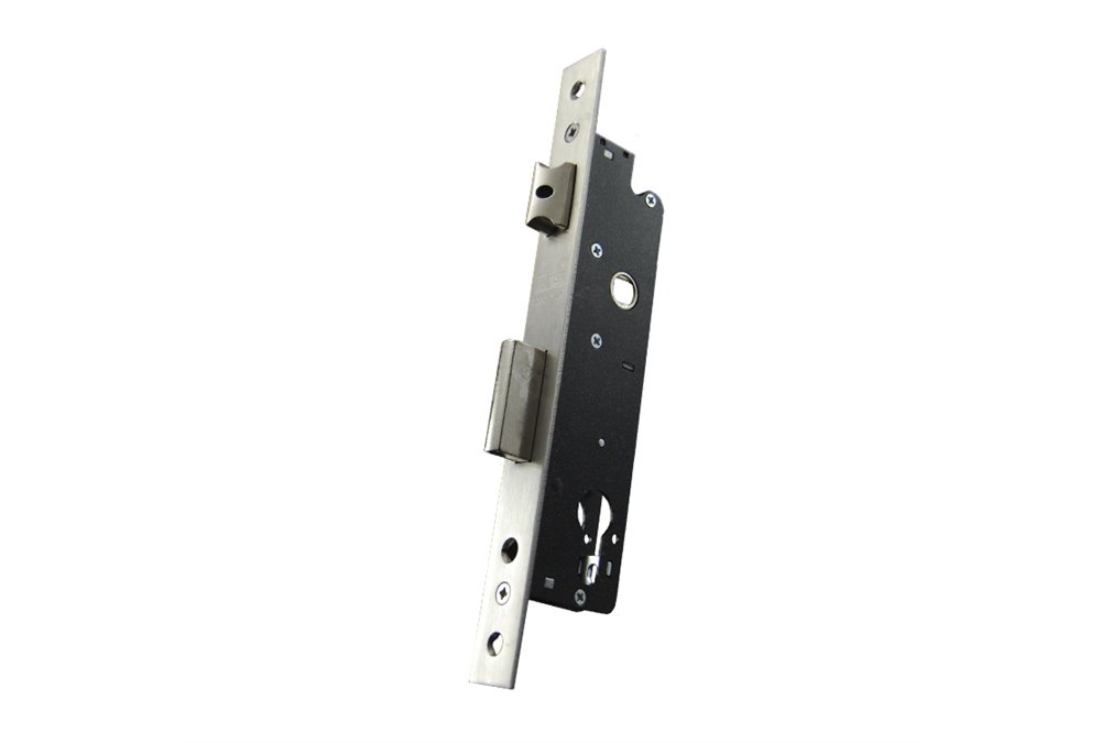 Zamek do drzwi 92/25 wpuszczany na wkładkę bębenkową GNS 7791