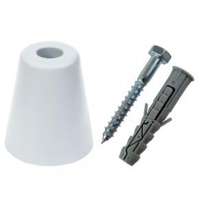 Odbojnik drzwiowy 70mm biały Dexpro 80S04