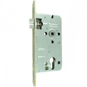 Zamek do drzwi 72/50 wpuszczany na wkładkę bębenkową wersja stolarska Lob Z75B