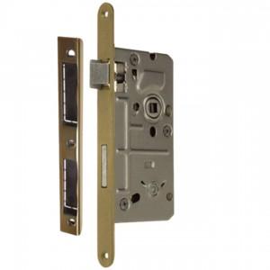 Zamek do drzwi 72/55 wpuszczany łazienkowy Metalplast Częstochowa BOX lewy