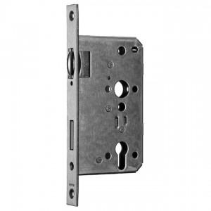 Zamek do drzwi wpuszczany na wkładkę bębenkową rolkowy ECO Schulte 31RFA PZ65