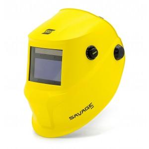 Przyłbica samościemniająca SAVAGE A40 żółta