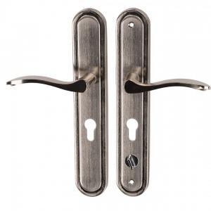 Klamka z szyldem KL H1 lewa