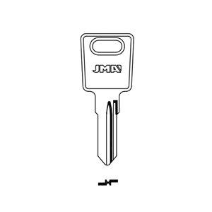 Klucz surowy JMA LAS-KT do zamków Ronis 10szt