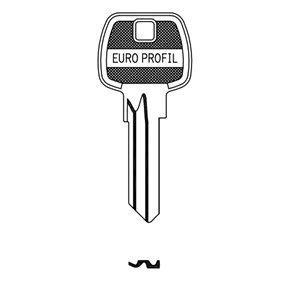 Klucz surowy JMA EUP-3D do wkładek Gerda E1 10szt