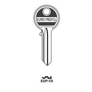 Klucz surowy JMA EUP-1D do wkładek Gerda E1 10szt