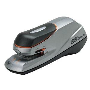 Zszywacz biurowy elektryczny Rapid Optima Grip srebrno-czarny
