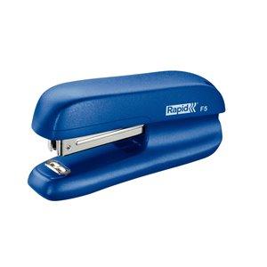 Zszywacz biurowy mini F5 Rapid niebieski