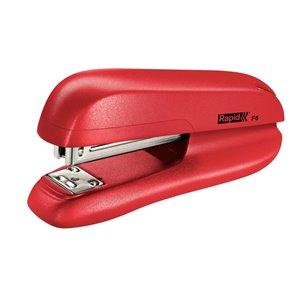 Zszywacz biurowy mały F6 Rapid czerwony