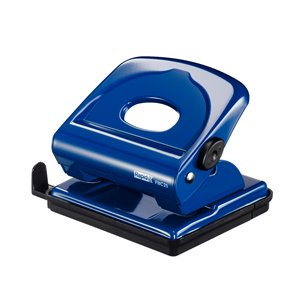 Dziurkacz biurowy metalowy FMC25 Rapid niebieski