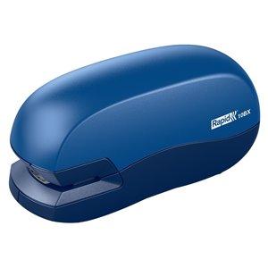Zszywacz biurowy elektryczny 10BX Rapid na baterie niebiesko-szary