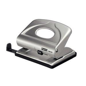 Dziurkacz biurowy mały metalowy FMC20 Rapid srebrny