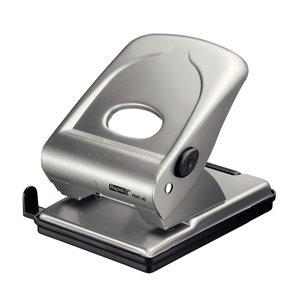 Dziurkacz biurowy duży metalowy FMC40 Rapid srebrny