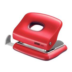 Dziurkacz biurowy mały FC20 Rapid czerwony